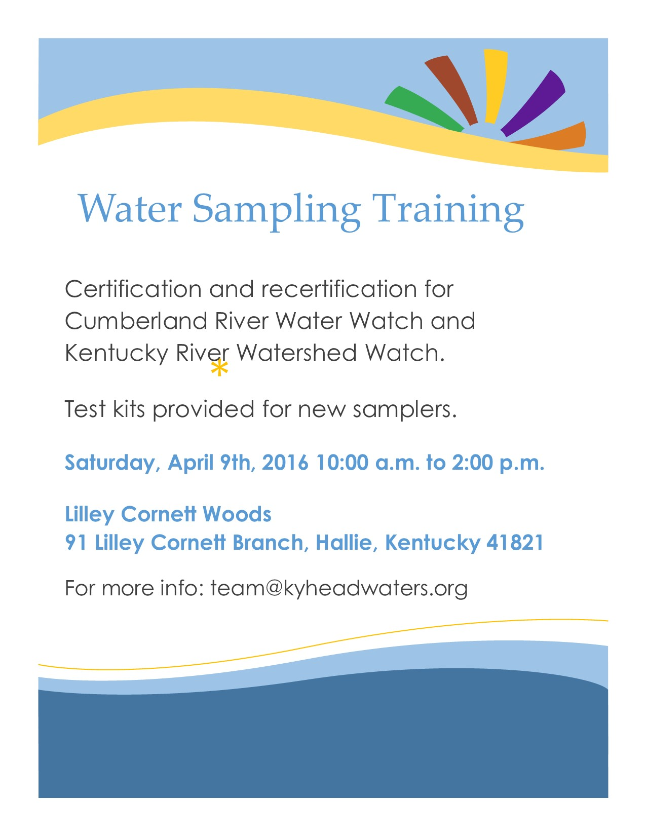 Certification for water sampling offered join in a water sampling training with headwaters in order to become certified or re certified to sample local stream water those in attendance at the 1betcityfo Images