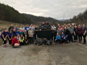 LCCHS Students Clean Our Waterways