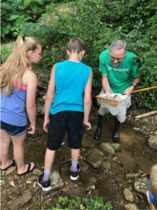 Watershed Education at Cowan Creek Science Camp